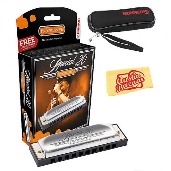 Custom Hohner Special 20 Harmonica - Key of F w/ Carrying Case #1 image
