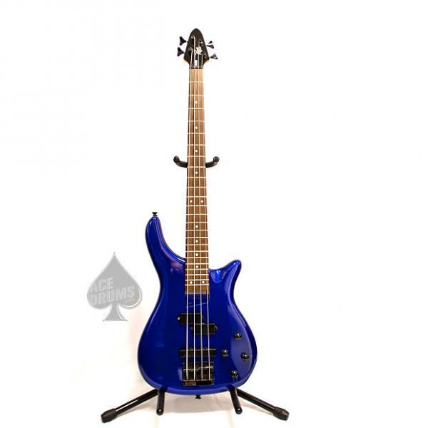 Custom Rogue Series II LX200B Blue Electric Bass Guitar Blue #1 image