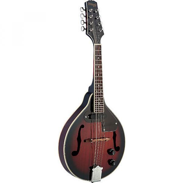 Custom Stagg M50E Acoustic-Electric Mandolin - Redburst #1 image
