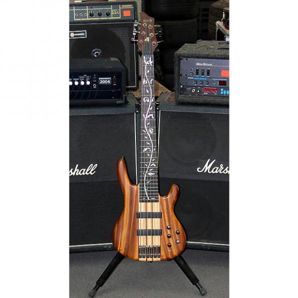 Custom RAVEN WEST 6 STRING BASS NATURAL TWO TONE STAIN #1 image