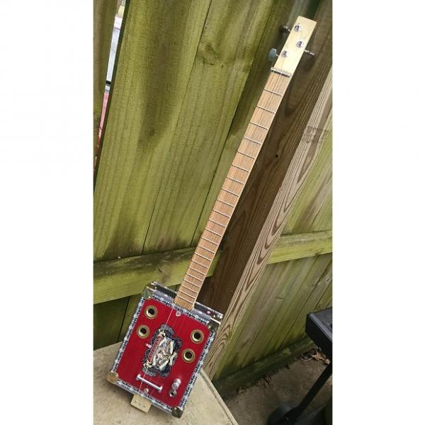 Custom 3 String Cigar Box Guitar #1 image