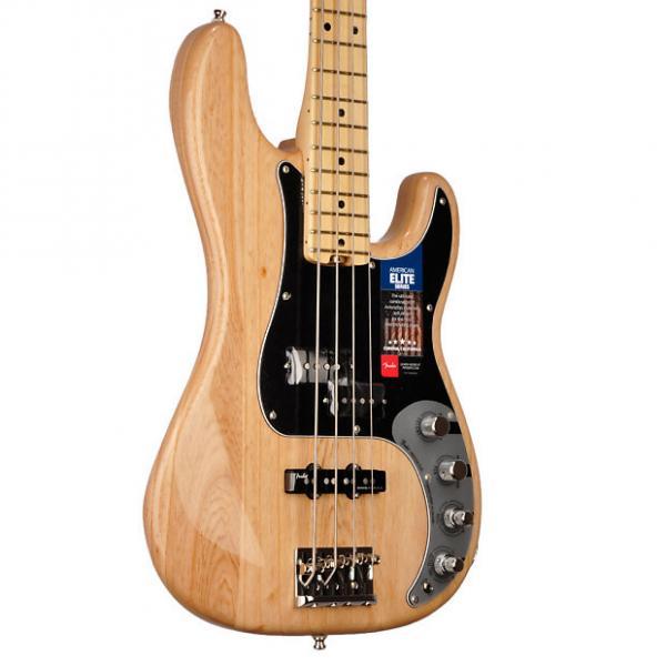Custom Fender American Elite Precision Bass  9.2 pounds - US16107284 2017 Natural #1 image