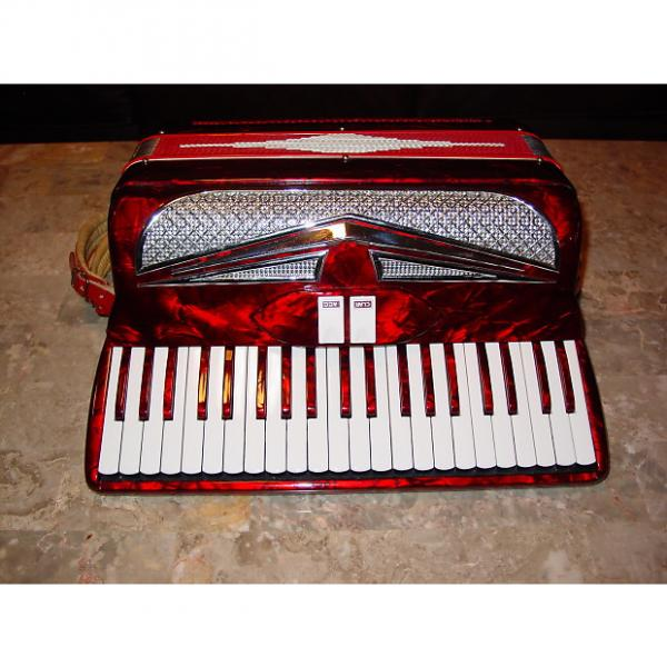 Custom Lindo By Imperial 2/4 reed full size 60's Red #1 image