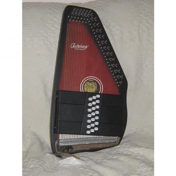 Custom Oscar Schmidt 21 Chord Autoharp early 2000's Cherry Black #1 image