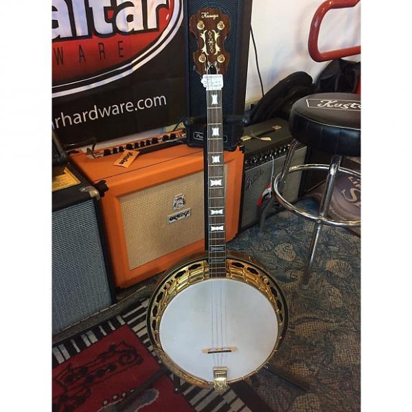 Custom Kasuga Tenor Banjo Natural #1 image
