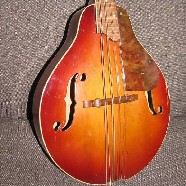 Custom Kay K-73 A-Style Mandolin 1946 Cherry Burst Arched Top/Back #1 image