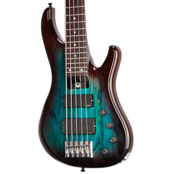 Custom Geoff Gould GGi5 Blue/Purple Burst - Graphite Neck - #1249 - 8.6 pounds #1 image