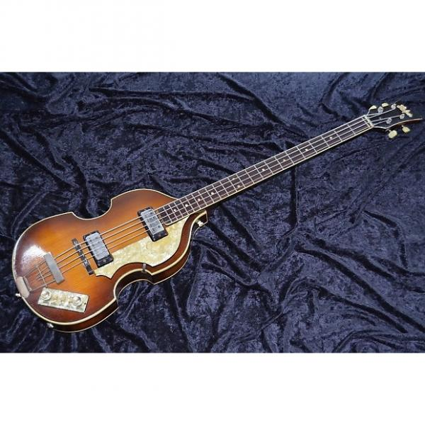 Custom 1964 1965 Hofner Beatle Bass model 500/1 Sir Paul Excellent Vintage  Orig. Case #1 image