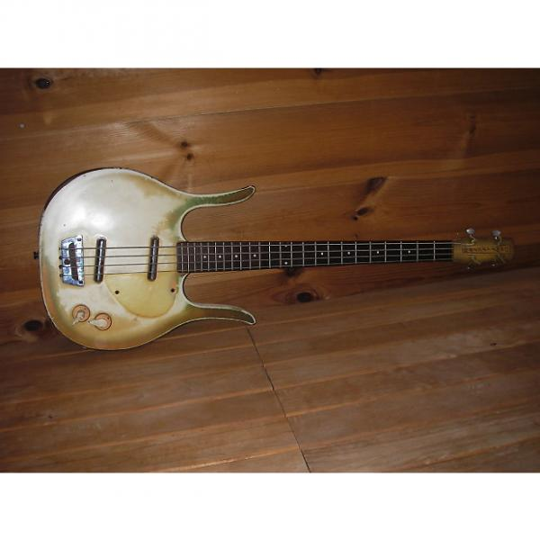 Custom DANELECTRO LONGHORN BASS  1964 Copper Burst (Original Condition)  PRICED TO SELL!! #1 image