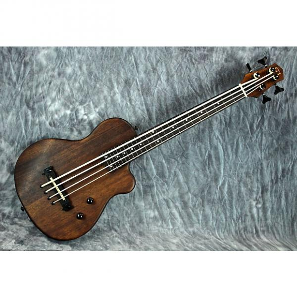 Custom Gold Tone ME-BassFL Fretless Solid-Body Micro Bass w/ Mahogany Body & Gig Bag #1 image