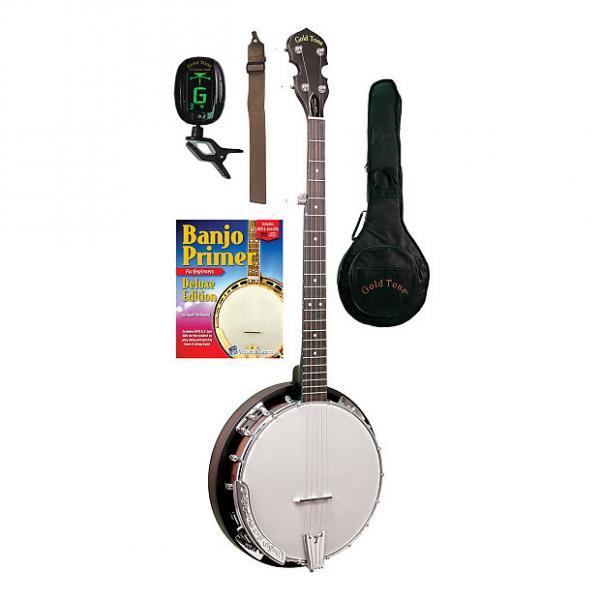Custom Gold Tone CC-BG Cripple Creek Banjo Bluegrass Starter Pack #1 image