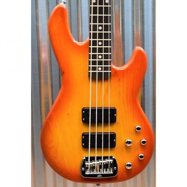 Custom G&L Tribute M-2000 4 String Bass Honeyburst 3 Band Active EQ & Case M2000 #0443 #1 image