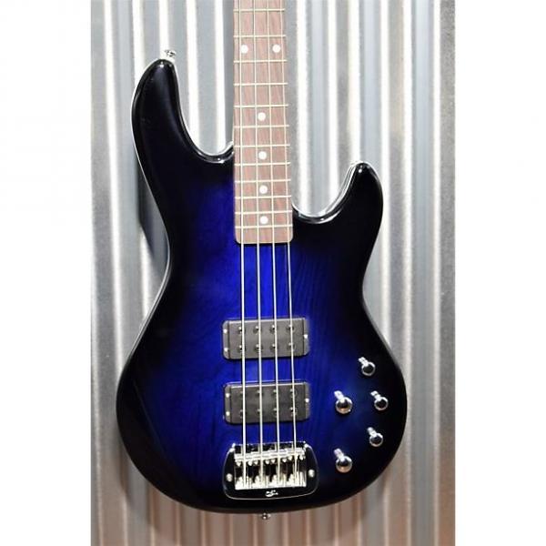 Custom G&L Tribute M-2000 4 String Bass Blueburst 3 Band Active EQ - M2000 & Case #8572 #1 image
