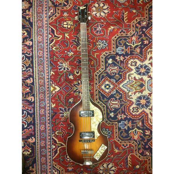 Custom 1967 Hofner 500/1 vintage bass guitar #1 image