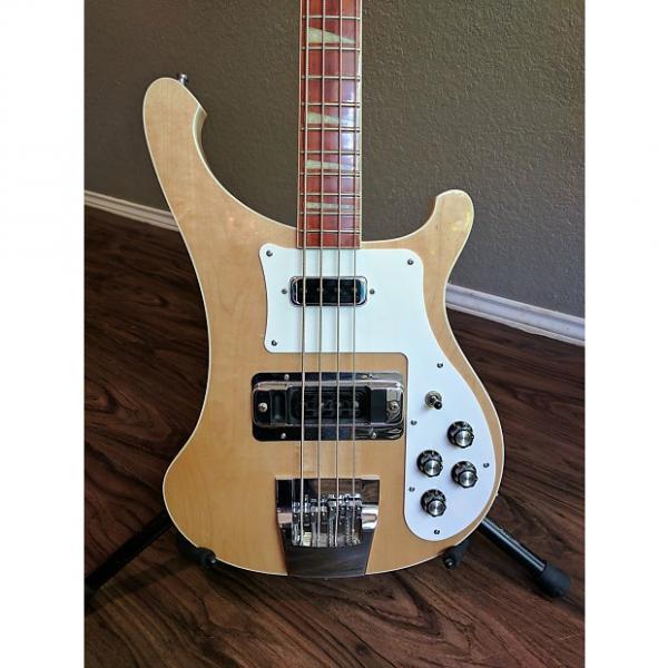 Custom Rickenbacker 90's 4003 bass guitar near MINT! w/ case-used Rick bass for sale #1 image