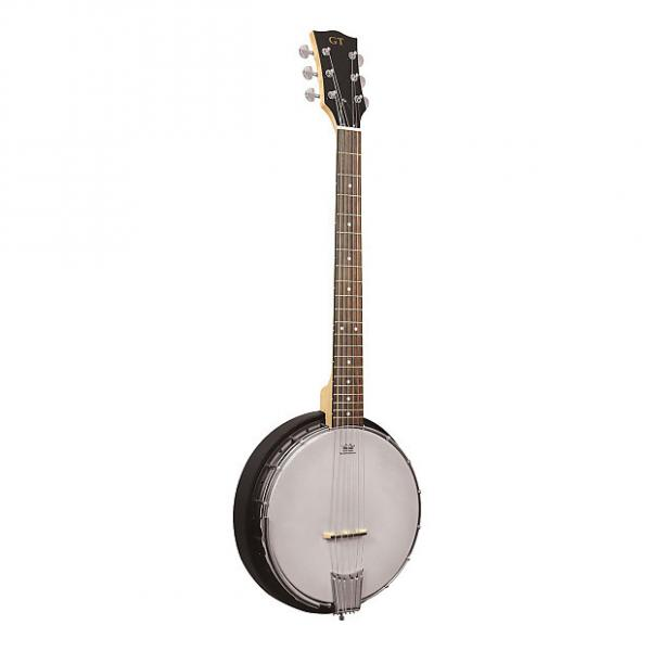 Custom Gold Tone AC-6 Acoustic Composite 6-String Banjo Guitar with Gig Bag #1 image