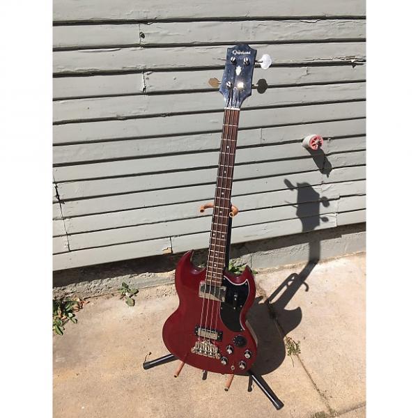 Custom Epiphone Elite EB-3 Bass- Hardshell Case-Japan Made-USA Parts-Rare #1 image