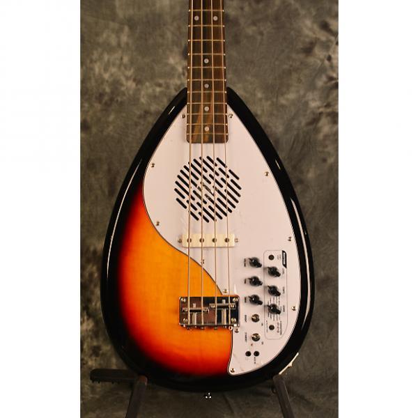 Custom Vox Apache 1 Bass Vintage Sunburst Phantom 4 Short Scale Travel Deluxe Gigbag & Strap FREE Shipping #1 image