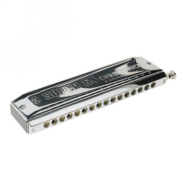 Custom Hohner M758201 Super 64 Chromonica Harmonica Key of C #1 image