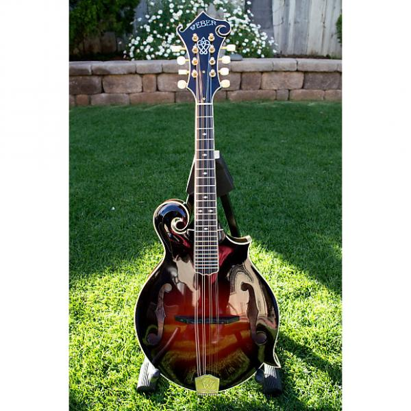 Custom Weber Yellowstone F-style Mandolin in Cherry Sunburst #1 image