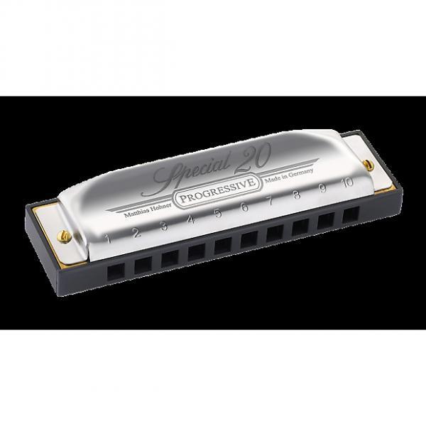 Custom Hohner Progressive Series 560 Special 20  Harmonica - G #1 image