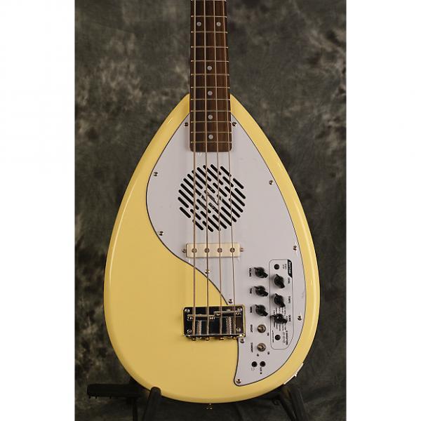 Custom Vox Apache 1 Bass Vintage Cream Phantom 4 Short Scale Travel Deluxe Gigbag & Strap FREE Shipping #1 image