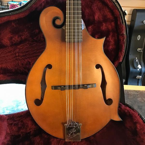 Custom Gibson F-9 Mandolin OHSC 2004 Natural #1 image