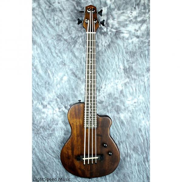Custom Gold Tone ME-Bass Fretted Solid-Body Micro Bass w/ Mahogany Body & Gig Bag #1 image