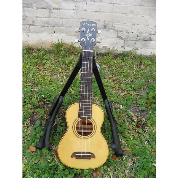 Custom Alvarez AU60S Soprano Acoustic Ukulele Uke #4100 #1 image