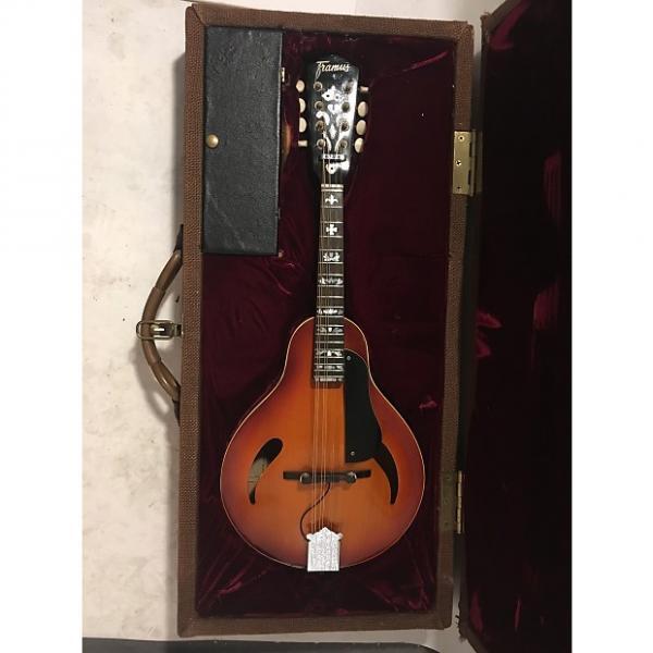 Custom 1960s Framus A-Style Electric Mandolin with custom case #1 image