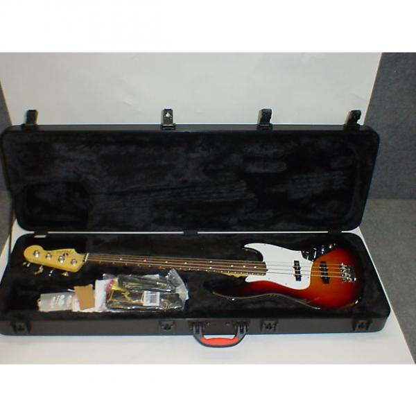 Custom Fender 2016 American Standard Jazz 4-String Electric Bass Guitar w/ Case - Previously Owned #1 image