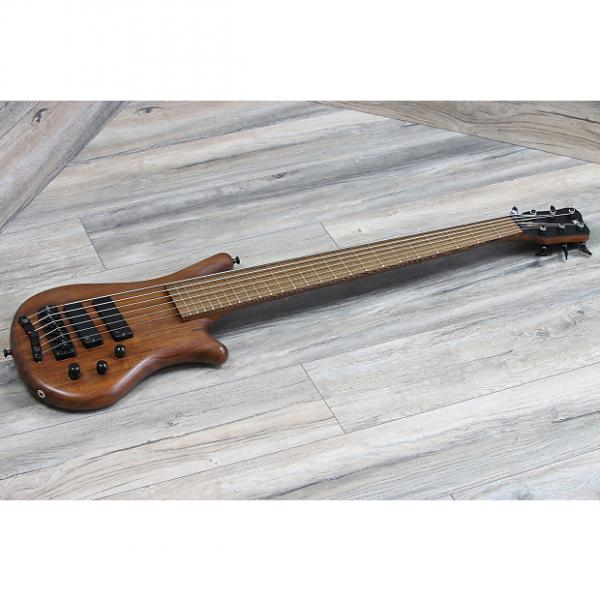 Custom Sweet! Warwick Thumb Bass 6 Sting BO 2004 Natural Great shape + OSSC made in Germany #1 image