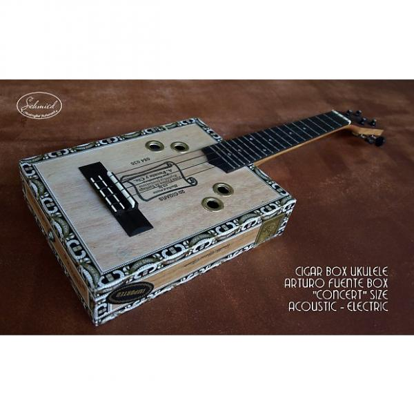 "Custom Cigar Box Ukulele, Concert size, ""Arturo Fuente"" Cigar Box #1 image"