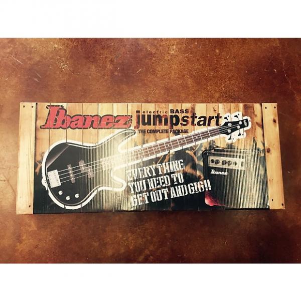 Custom Ibanez Electric bass jump start bass pack IJXB150B 2016 black #1 image