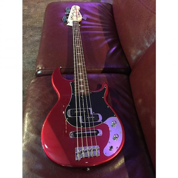 Custom Yamaha BB425X-BL 5-String Bass #1 image