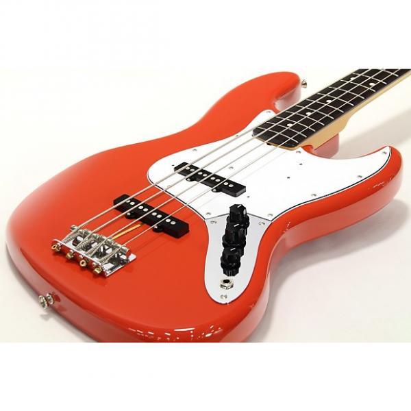 Custom Fender Japan JB62  Fiesta Red #1 image
