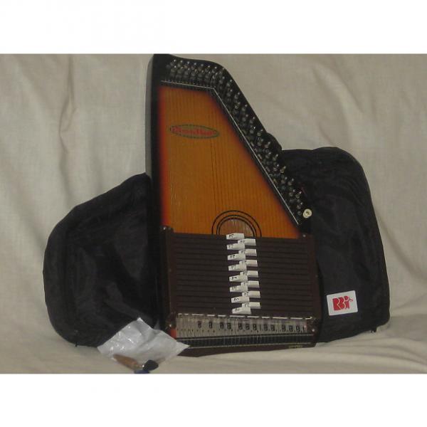 Custom Chromaharp Autoharp 15 Chord with Gig Bag #1 image