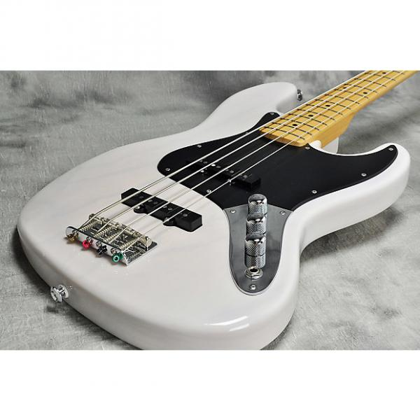 Custom Suhr Classic Jazz Bass Transparent White #1 image