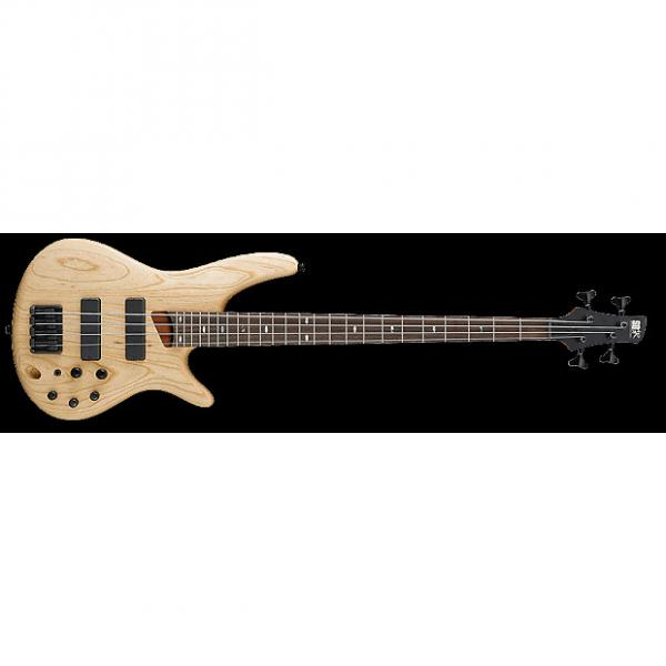 Custom Ibanez SR600 Bass Guitar - Natural Flat #1 image