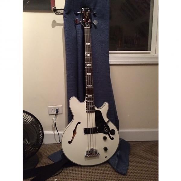 Custom Epiphone Jack Casady Signature Bass Alpine White #1 image