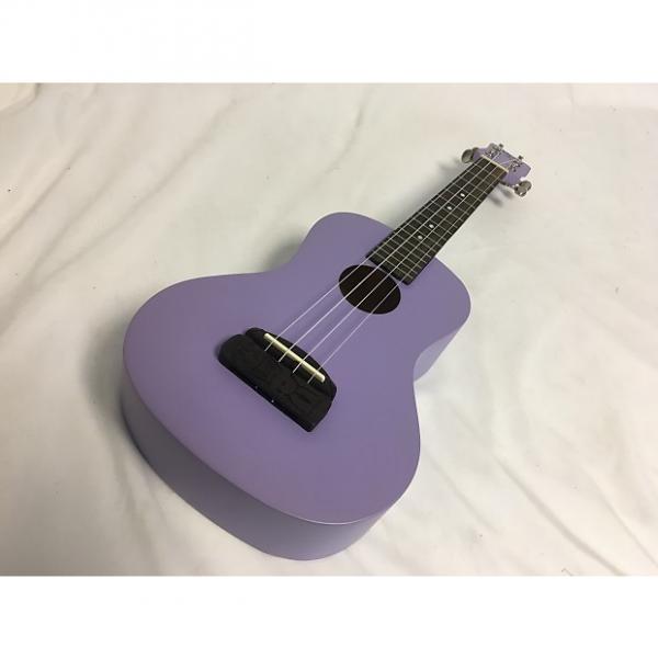 Custom New Kohala Tiki Concert Uke Purple #1 image