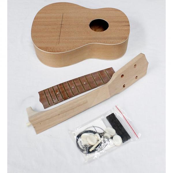 Custom Grizzly Ukulele Kit w/ Instructions, Model H3125, Build Your Own Ukulele! #27274 #1 image