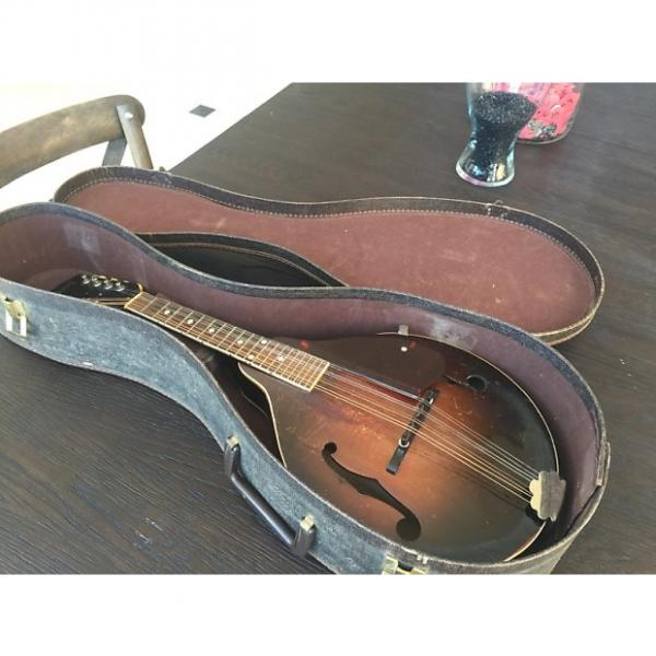 "Custom Gibson ""A"" Style Mandolin 1949 Gloss Tobacco Burst #1 image"