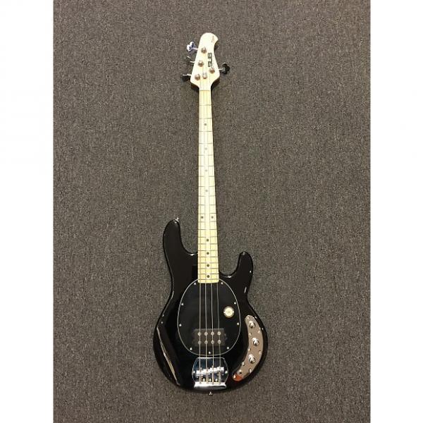 Custom Sterling by Music Man Ray4 Black Bass Guitar #1 image