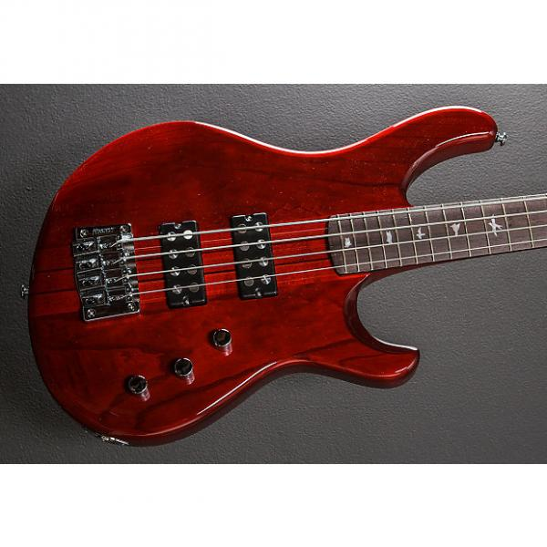 Custom Paul Reed Smith SE Kingfisher Bass 2014 Scarlet Red #1 image