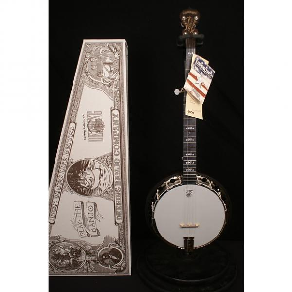 Custom Brand New in box Deering  Artisan Goodtime 2 5 string flathead banjo w resonator Made in USA #1 image