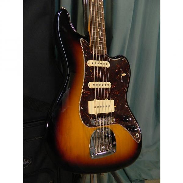 Custom Fender Pawn Shop Bass VI 2011 3 Tone Sunburst #1 image