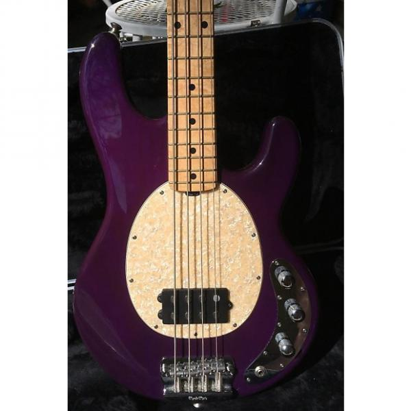 Custom Ernie Ball Music Man Classic StingRay 4 Funky Purple #1 image