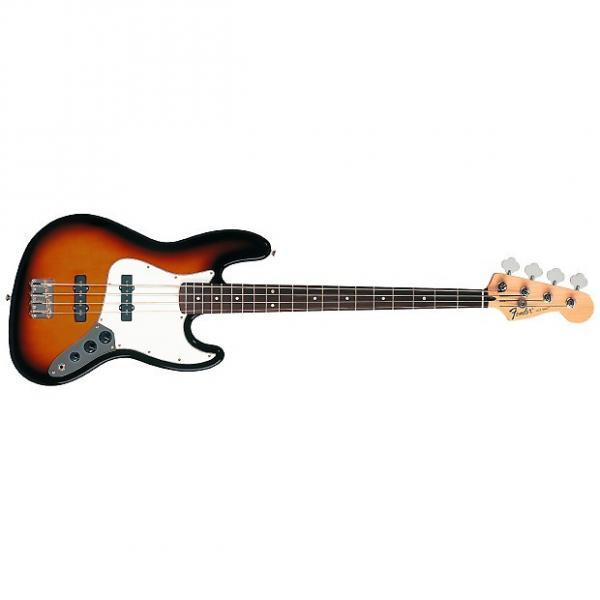 Custom Fender Jazz Bass Standard (MEX, RW) - brown sunburst #1 image