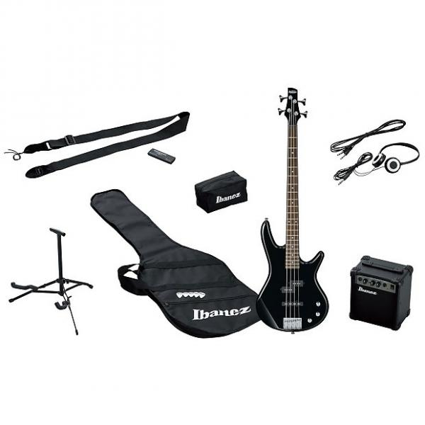 Custom Ibanez IJSR190-BK Jumpstart Bass Package - black #1 image